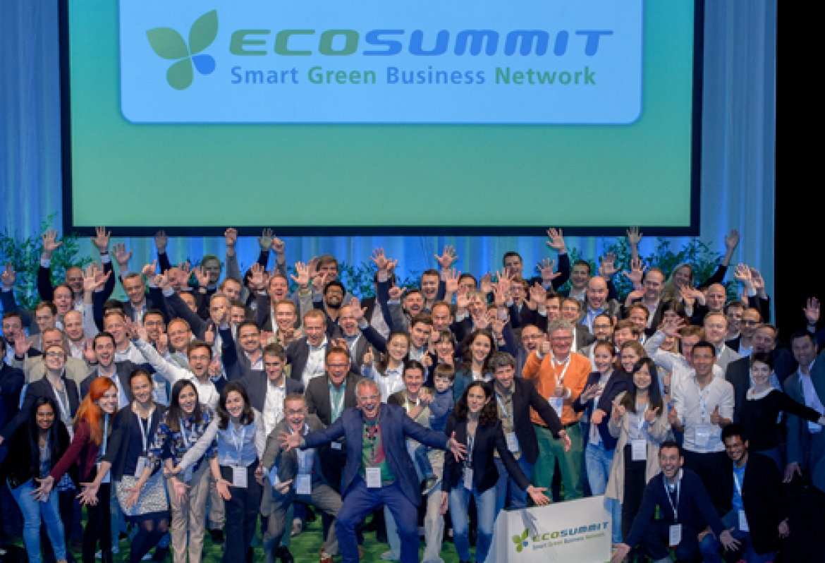 ecosummit Berlin - 61 startups total / 6 from InnoEnergy